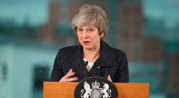 theresa may faces sinn fein fury over u-turn on brexit backstop and hard border fears
