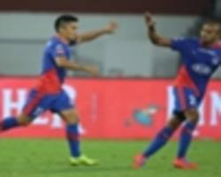 isl 2018-19: spirited bengaluru come back from behind to hold kerala blasters