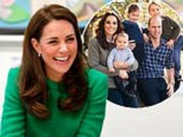 duchess of cambridge reveals prince george and princess charlotte love making art at home