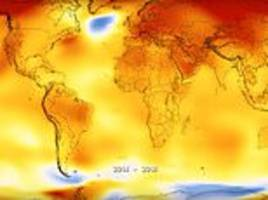 earth just experienced the fourth hottest year on record