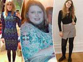 extreme eater recovered after going from a size 4 to a size 22