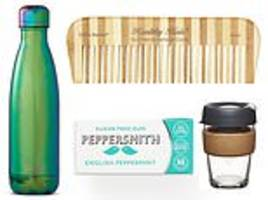 from silk dental floss to bamboo combs, you can banish plastic from your must-carry items