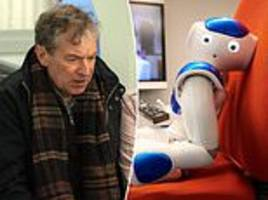 'robbie the robot' can spot worsening dementia after watching 13 episodes of emmerdale