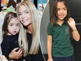 'I'm learning every day': Denise Richards reveals her daughter has a rare chromosomal disorder