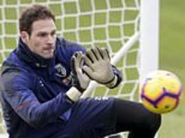 bournemouth goalkeeper asmir begovic in bust-up with boss eddie howe after being axed