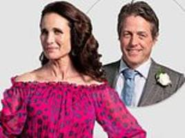 hugh grant reunites with andie macdowell for first teaser image from four weddings sequel