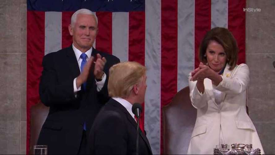 Did Nancy Pelosi 'Clap Back' at Trump's State of the Union Speech?