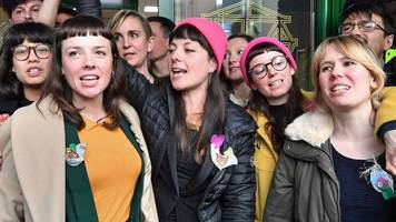 stansted 15 activist: 'relieved we're not going to prison'
