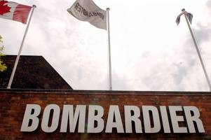 merger of rail rivals to derby-based bombardier is blocked by eu