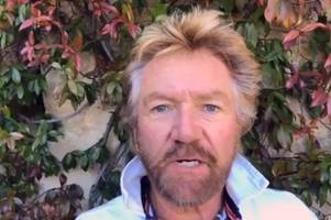 noel edmonds facebook rant at avon and somerset police after losing millions