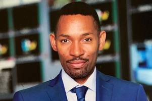 itv weatherman 'dancing' des coleman returns to work after illness forced him to cancel leicester christmas lights switch-on