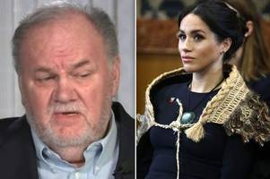 meghan markle 'begged dad to stop victimising her in media' but his response was shocking