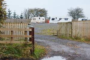 travellers' bid to build east ayrshire caravan site sparks dozens of objections