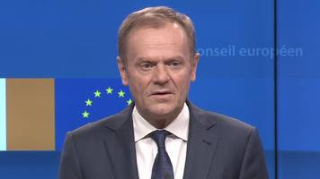 donald tusk: special place in hell for brexiteers