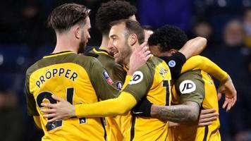 murray sends brighton through in extra time against west brom