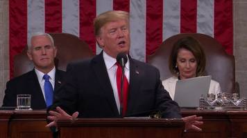us president donald trump's state of the union speech 2019