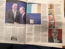 brexit: guardian absolves labour mps who backed brexit and eu wonk donald tusk sent to hell