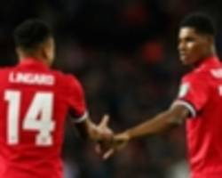 lingard: the world's rashford's oyster & mbappe's talent is frightening