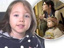 bird box star vivien lyra blair is named peta's youngest-ever spokesperson at six-years-old