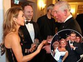 prince charles meets the spice girls at london charity event