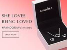 Valentine's Day gifts for her: Pandora sale launched ahead of Feb 14th