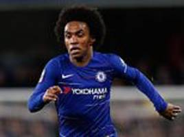 paris saint-germain 'still keen on willian' with chelsea reluctant to offer long-term deal
