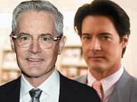 sex and the city star kyle maclachlan displays grey locks at amfar