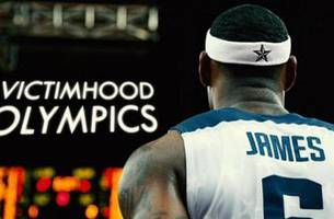 jason whitlock: lebron is going for the gold medal in the 'victimhood olympics'