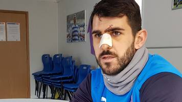nelson oliveira: tyrone mings 'could have avoided' facial contact in reading v aston villa game