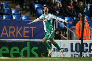 plymouth argyle's ruben lameiras wins league one pfa fans' player of the month award