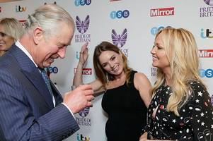 geri horner brands prince charles a 'spice boy' - and says entire uk should be proud of him