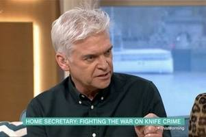 phillip schofield slams sajid javid during brutal dressing down on this morning