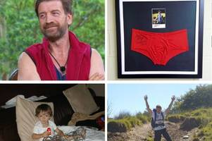 bidding for nick knowles' budgie-smugglers at over a grand