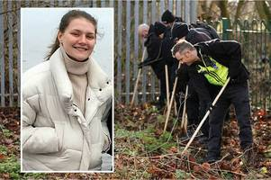 libby squire search police arrest 24-year-old man as hunt for missing hull student continues