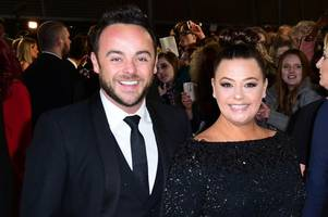 lisa armstrong in cryptic hint to ant mcpartlin over custody of dog hurley