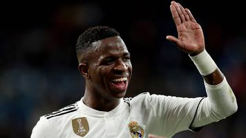 how 18-year-old vinicius is helping real madrid fans forget about ronaldo