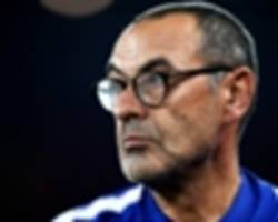 sarri explains how to beat 'best team in europe' man city