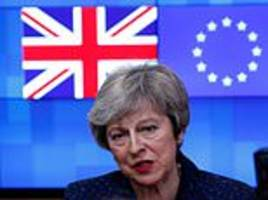 brussels taunts may over 'insane' brexit plan as she heads to dublin
