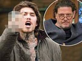 marco pierre white junior arrested after 'smashing windows' during row with celebrity chef father
