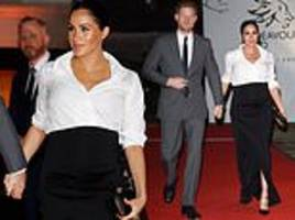 prince harry and meghan markle attend the endeavour awards in london
