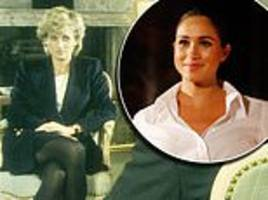 richard kay: like princess diana, i fear that meghan may be playing with fire