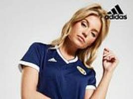 sexism or snowflakes? row as jd sports use photo of female model in suggestive pose for scotland kit