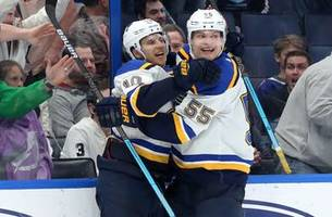 schenn's goal lifts blues to 1-0 overtime victory over lightning