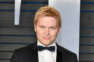 ronan farrow says he has also faced 'blackmail efforts from ami'