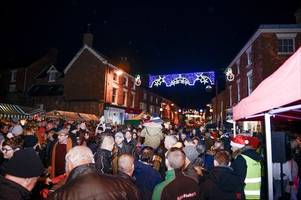 'by the time christmas arrives people are fed up...' row breaks out over plan to switch on town's xmas lights one day earlier than 2018