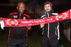 the tamworth fc coach making the most of 'opportunity of a lifetime'