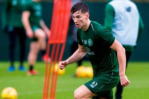 kieran tierney steps up celtic injury return - the 7 best images from lennoxtown