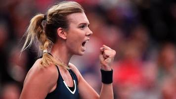 fed cup: katie boulter puts great britain ahead against hungary
