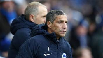 chris hughton demands fa action after gaëtan bong subjected to 'derogatory chants' in west brom game