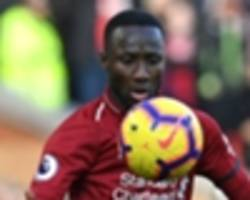 'today he was a different class' - robertson hails keita after 'best' liverpool performance